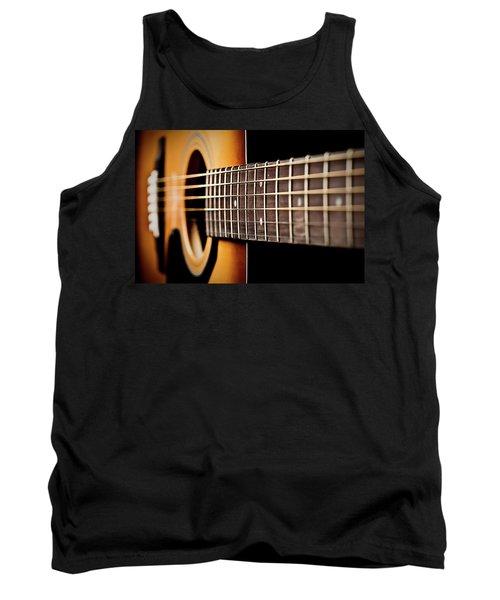 Six String Guitar Tank Top