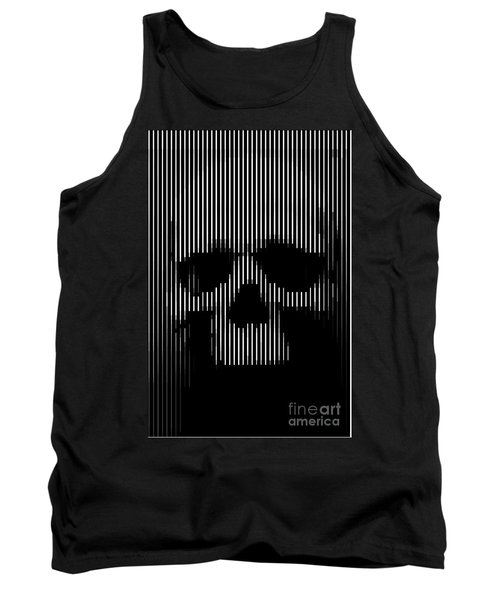 Skull Lines Tank Top