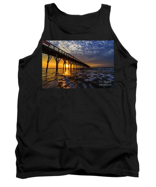 Sky Divided Tank Top