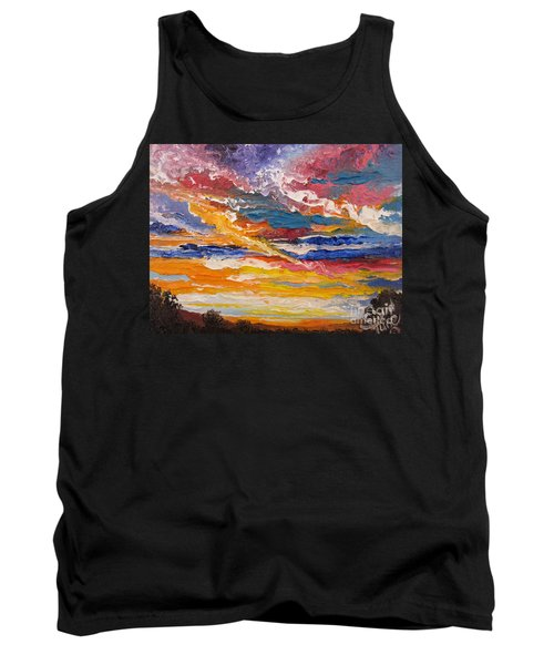 Sky In The Morning.             Sailor Take Warning  Tank Top