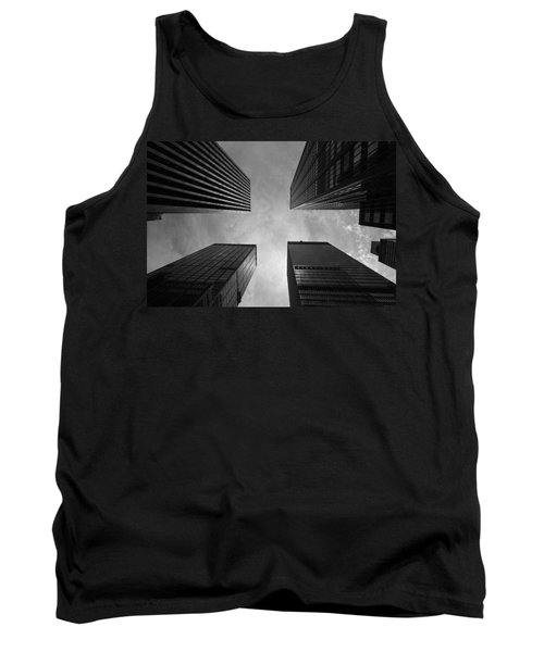 Skyscraper Intersection Tank Top