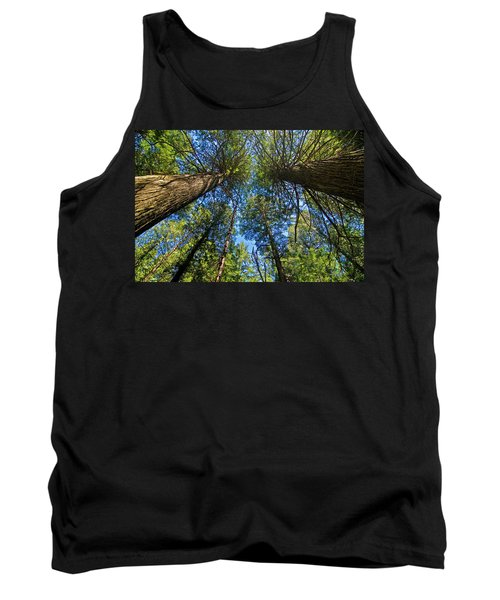 Tank Top featuring the photograph Skyward by Gary Lengyel