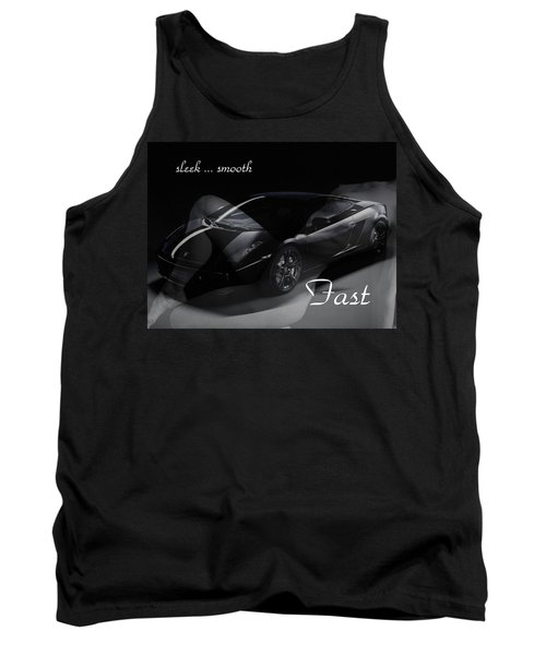 Sleek, Smooth, Fast Tank Top