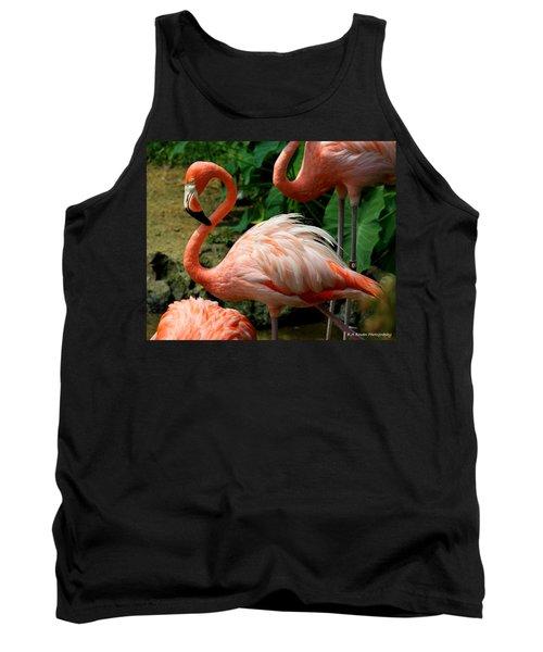 Sleeping Flamingo Tank Top