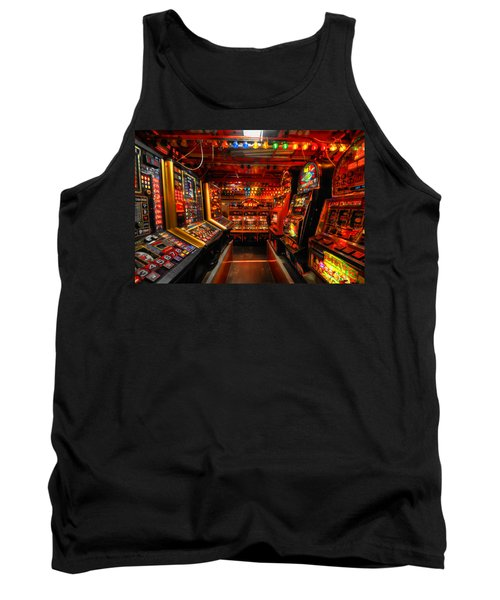 Slot Machines Tank Top by Yhun Suarez