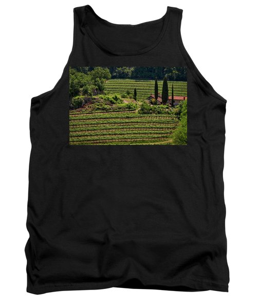 Tank Top featuring the photograph Slovenian Vineyard by Stuart Litoff