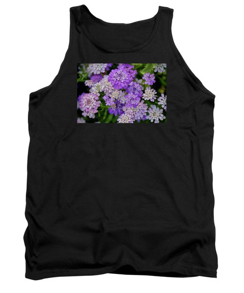 Small Pink Flowers 10 Tank Top