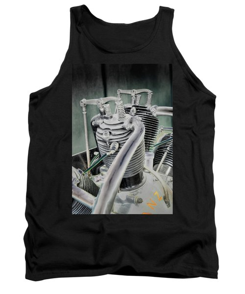 Small Radial Engine Tank Top