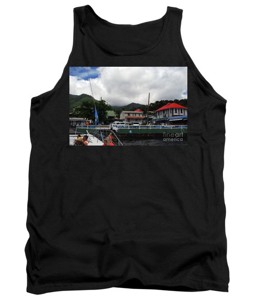 Tank Top featuring the photograph Small Village by Gary Wonning