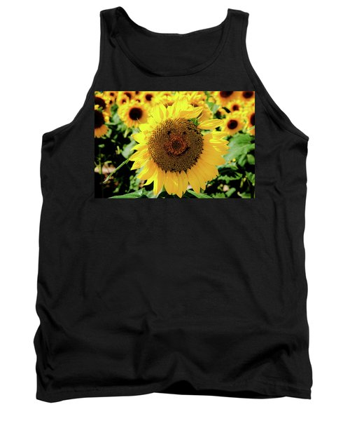 Tank Top featuring the photograph Smile by Greg Fortier