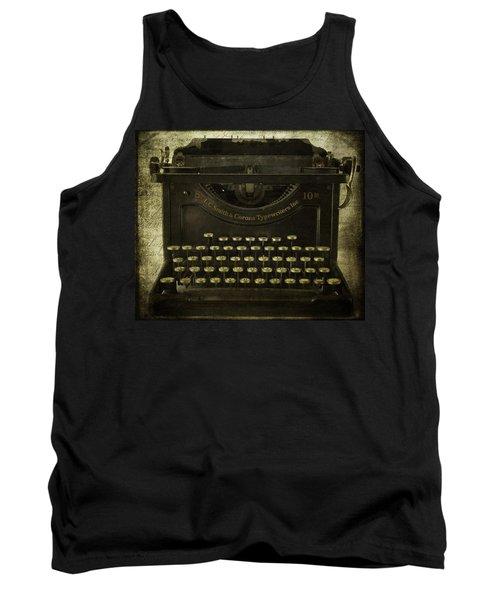 Smith And Corona Typewriter Tank Top