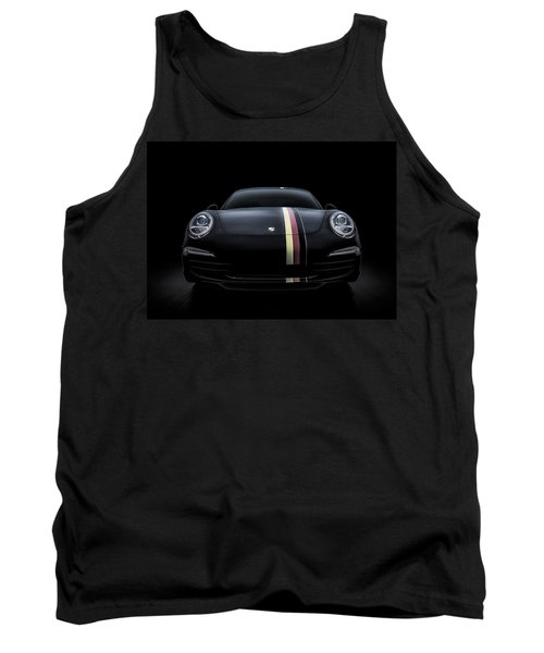 Smoke-stack Lightning Tank Top by Douglas Pittman