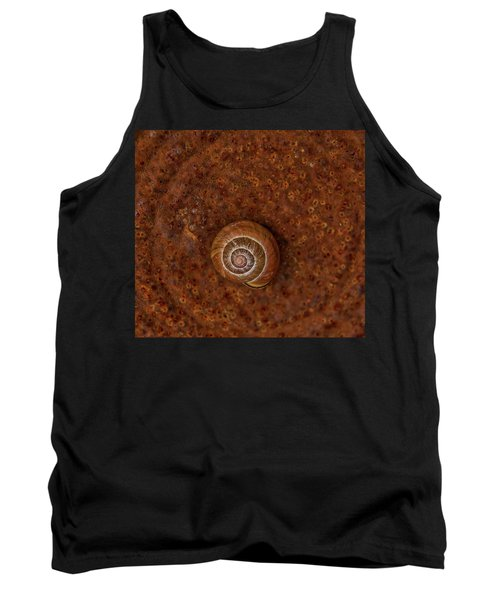 Snail On A Tin Can Tank Top