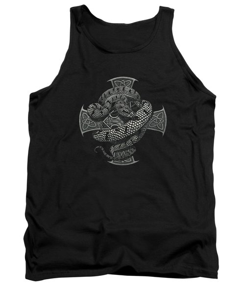 Snake Cross T-shirt Tank Top