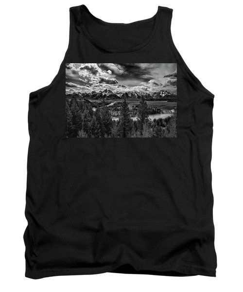 Snake River And Tetons Tank Top