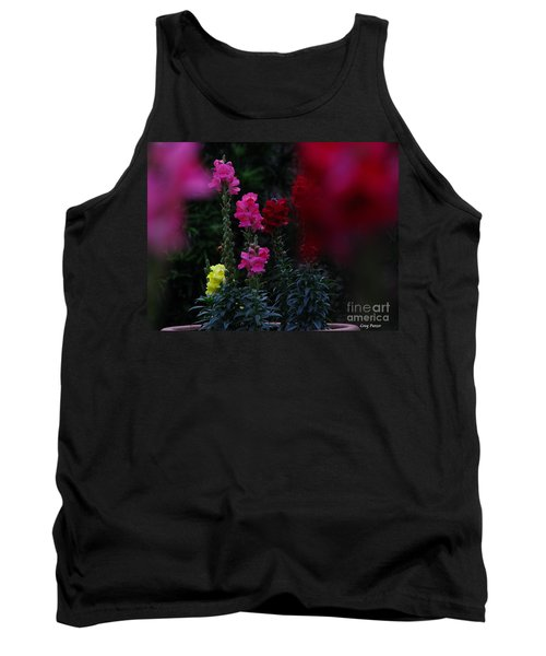 Snapdragon Tank Top by Greg Patzer