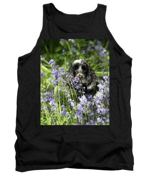 Sniffing Bluebells Tank Top