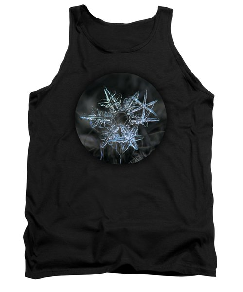 Tank Top featuring the photograph Snowflake Of 19 March 2013 by Alexey Kljatov