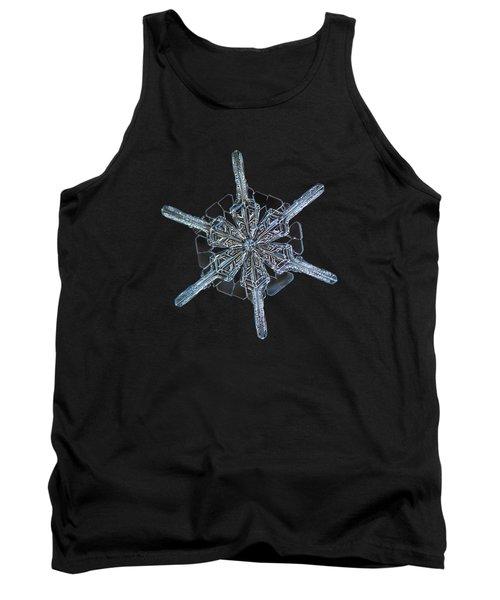 Snowflake Photo - Steering Wheel Tank Top