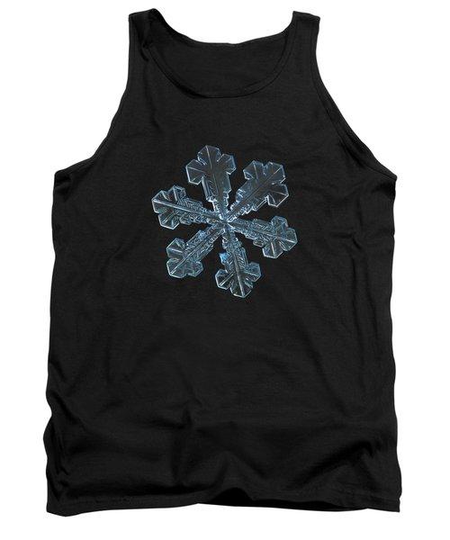 Snowflake Photo - Vega Tank Top