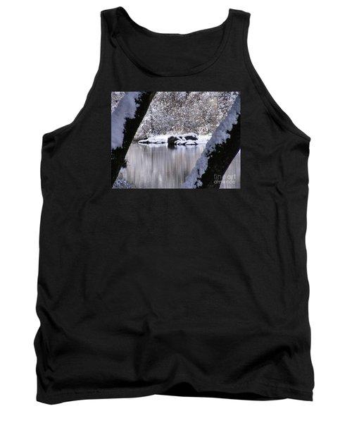 Snowy Bear River Tank Top
