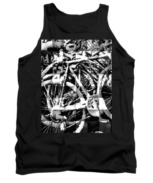 Snowy Bike Tank Top