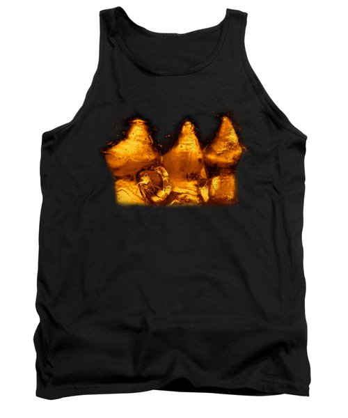 Tank Top featuring the photograph Snowy Ice Bottles by Sami Tiainen