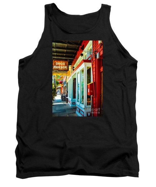 Snug Harbor Jazz Bistro- Nola Tank Top