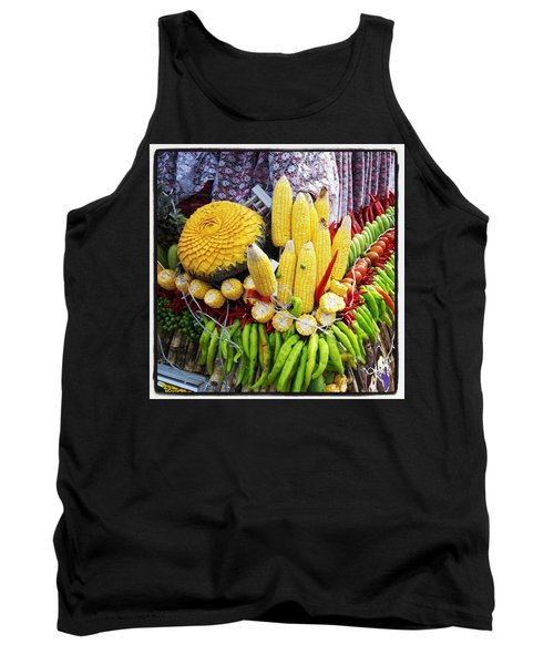 Tank Top featuring the photograph So, Elephants Eat Red Hot Chile by Mr Photojimsf