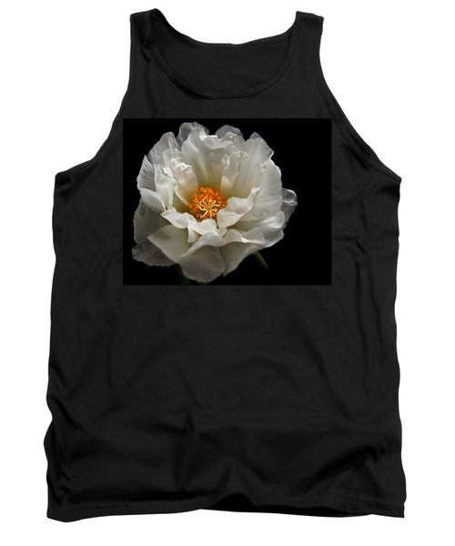 Tank Top featuring the photograph Soft And Pure by Judy Vincent