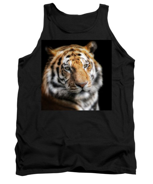 Soft Tiger Portrait Tank Top