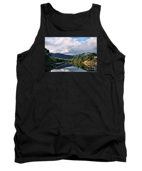 Solano Lake In The Fall Tank Top