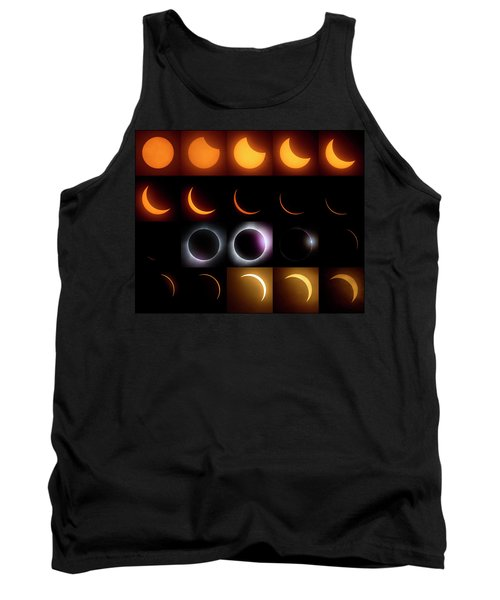 Solar Eclipse - August 21 2017 Tank Top