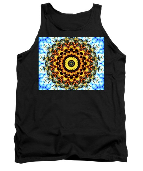 Tank Top featuring the digital art Solar Flare 2 by Wendy J St Christopher