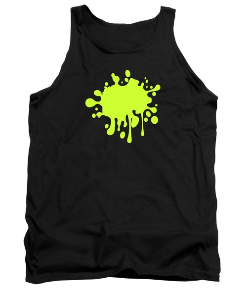 Solid Electric Lime Color Tank Top by Garaga Designs