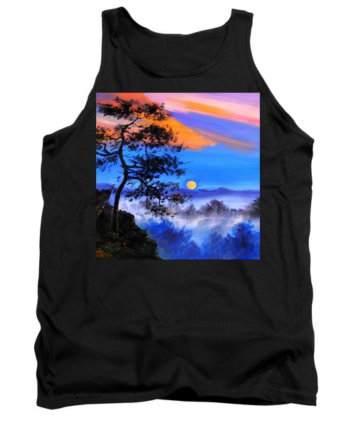 Tank Top featuring the painting Solitude by Karen Showell