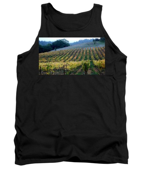 Sonoma County Vineyards Near Healdsburg Tank Top