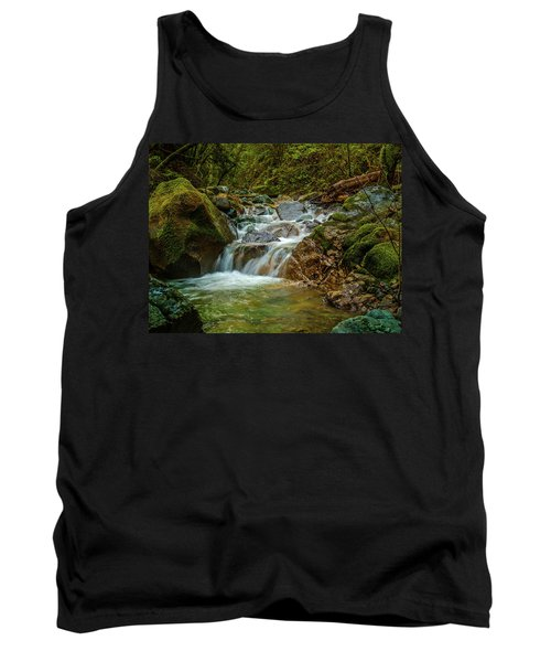 Tank Top featuring the photograph Sonoma Valley Creek by Bill Gallagher