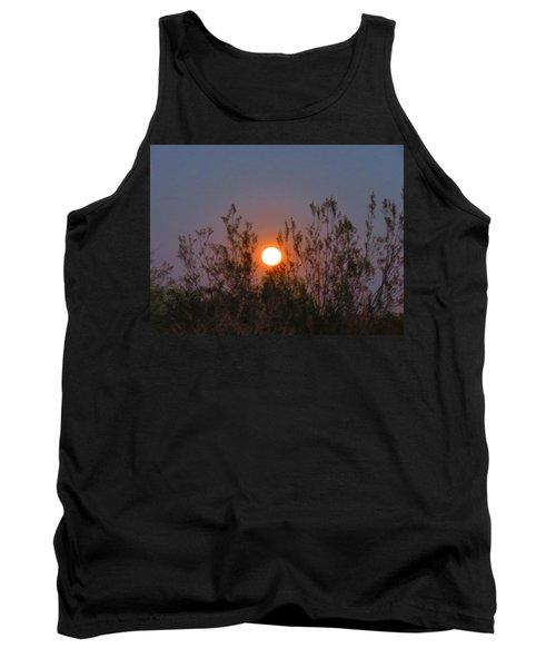 Sonoran Desert Harvest Moon Tank Top