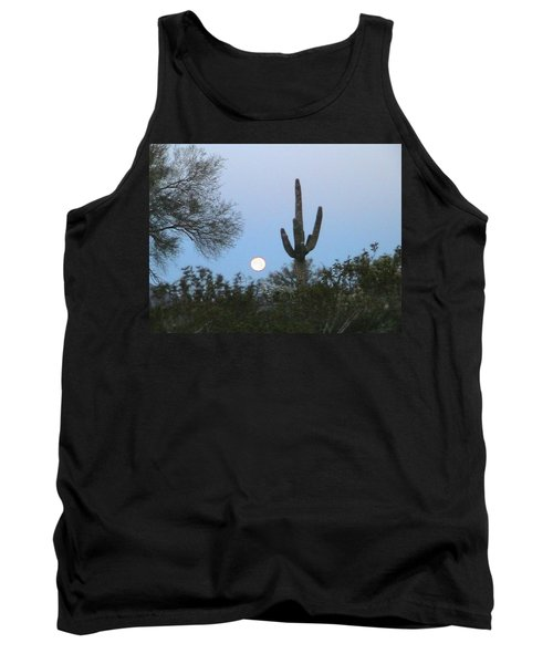 Sonoran Desert Moonset Tank Top