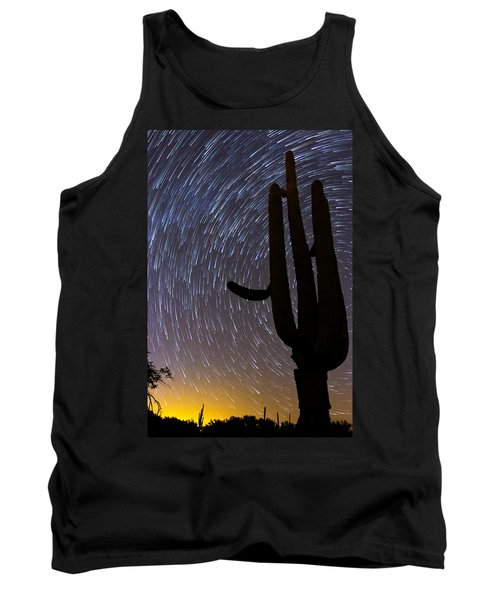 Sonoran Startrails - Reaching For The Stars Tank Top