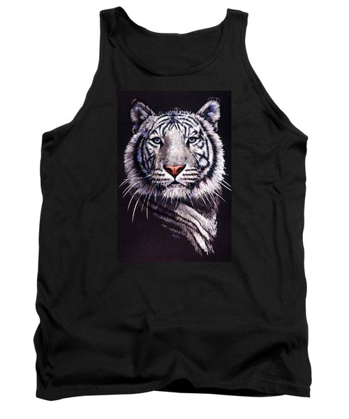 Tank Top featuring the drawing Sorcerer by Barbara Keith