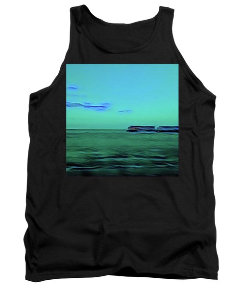 Sound Of A Train In The Distance Tank Top