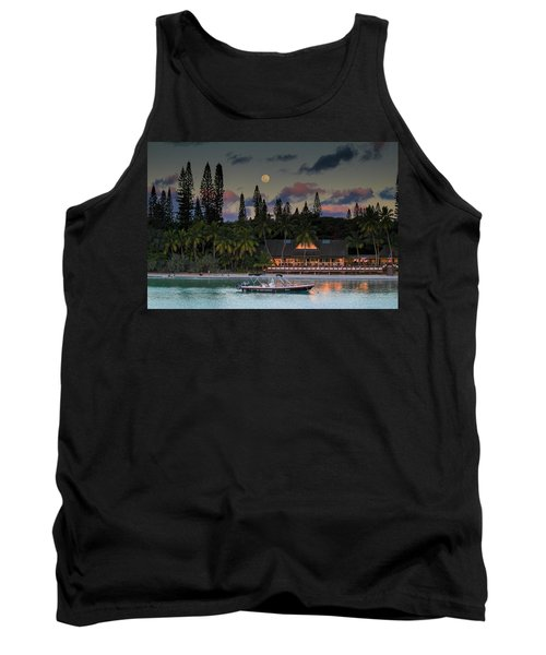 South Pacific Moonrise Tank Top