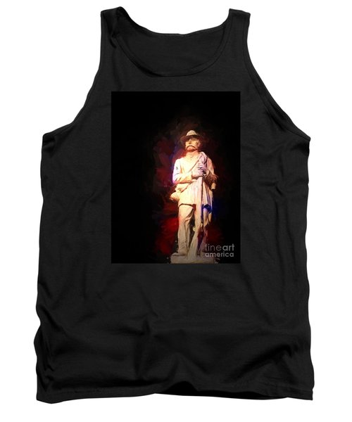 Tank Top featuring the photograph Southern Gent by Ken Frischkorn