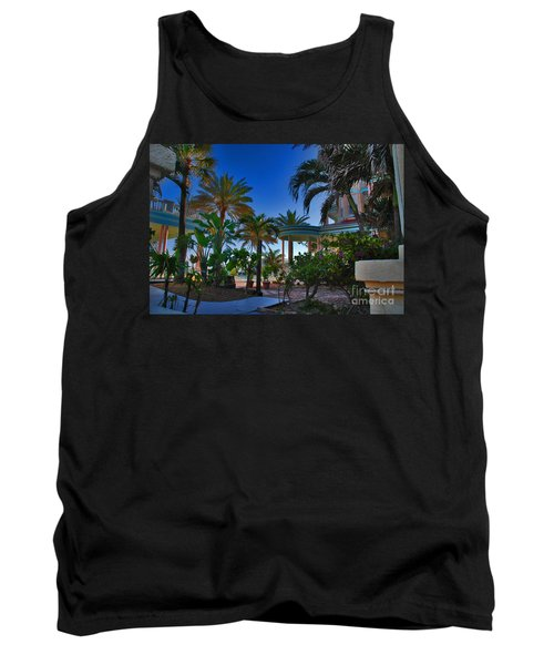 Southernmost Lush Garden In Key West Tank Top