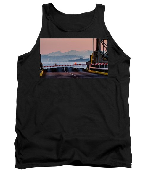 Southworth Ferry Terminal - End Of State Highway 160 Tank Top by E Faithe Lester