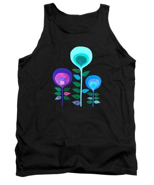 Space Flowers Tank Top
