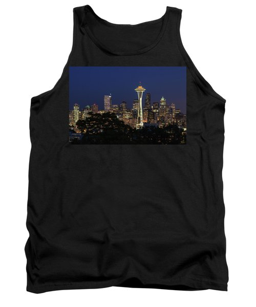 Tank Top featuring the photograph Space Needle by David Chandler