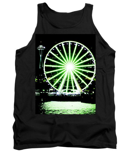 Space Needle Ferris Wheel Tank Top